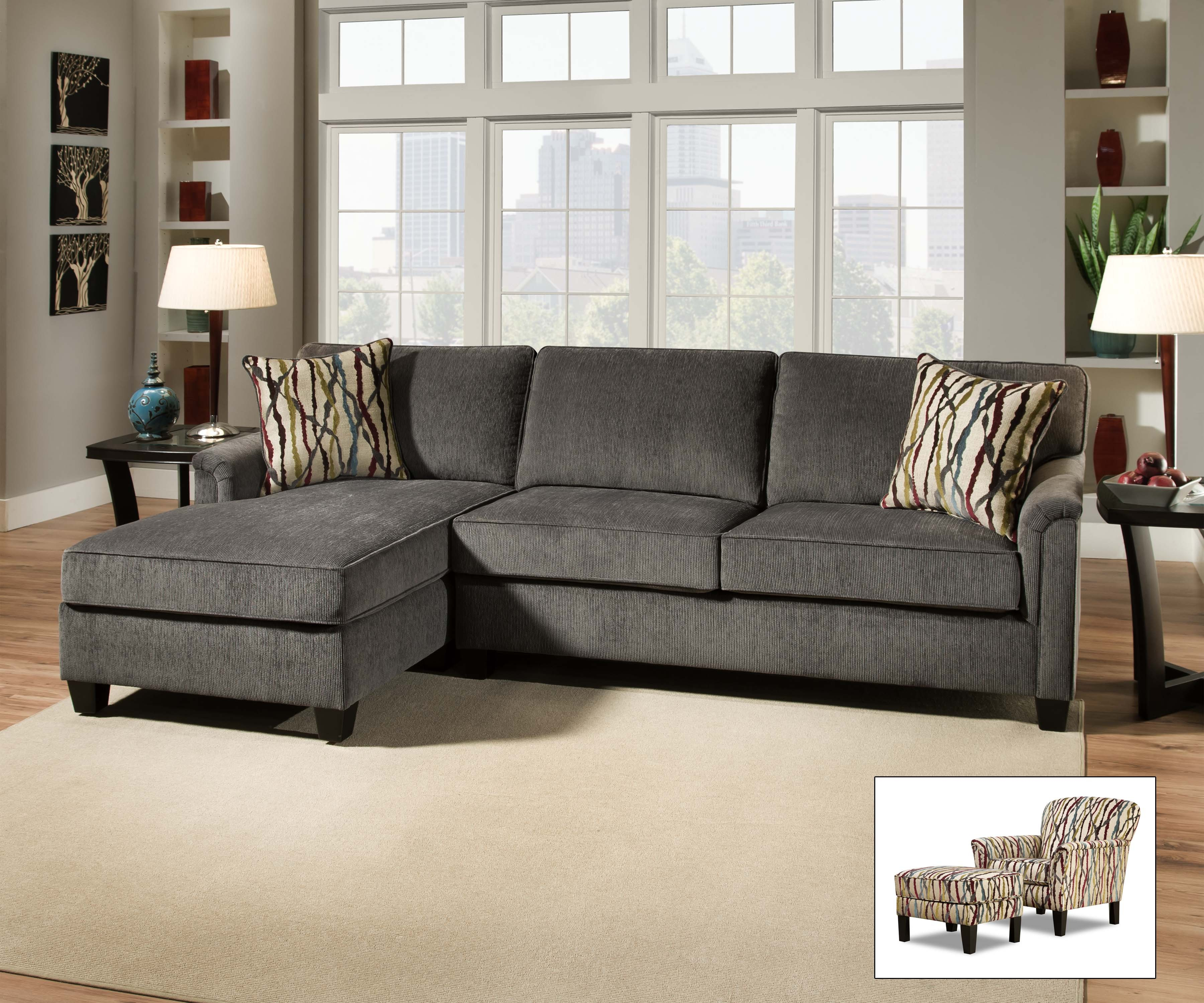 2150 Amazing Steel Sectional Springfield Furniture Direct