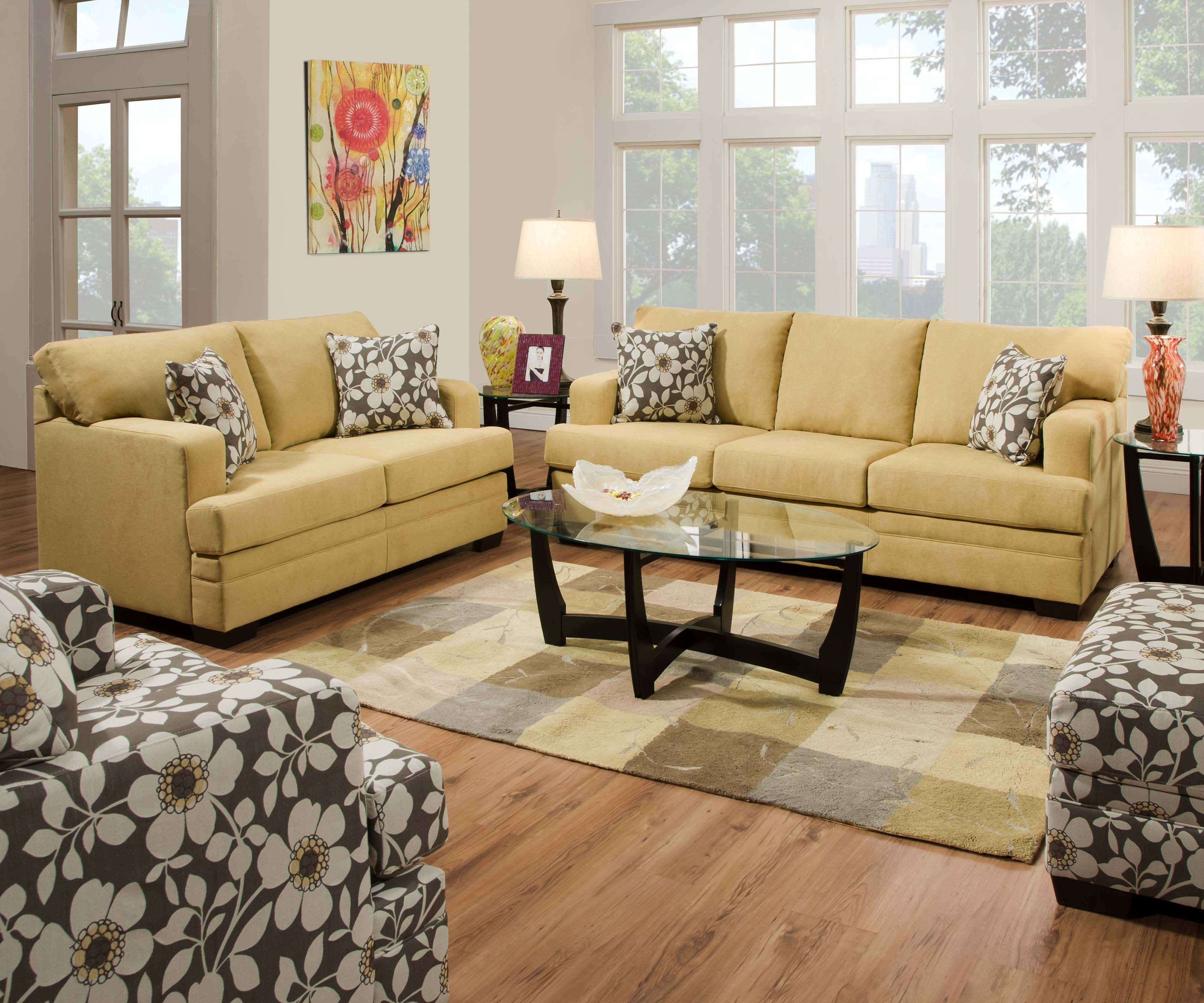6491 Caprice Cornsilk Springfield Furniture Direct