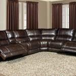 PARKER LIVING Pegasus Sectional (Synthetic Leather - Nutmeg)